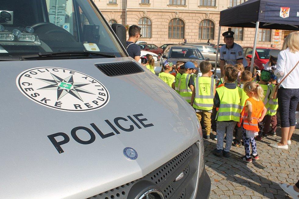 O akci Bezpečný život na Vysočině je velký zájem zejména u dětí.