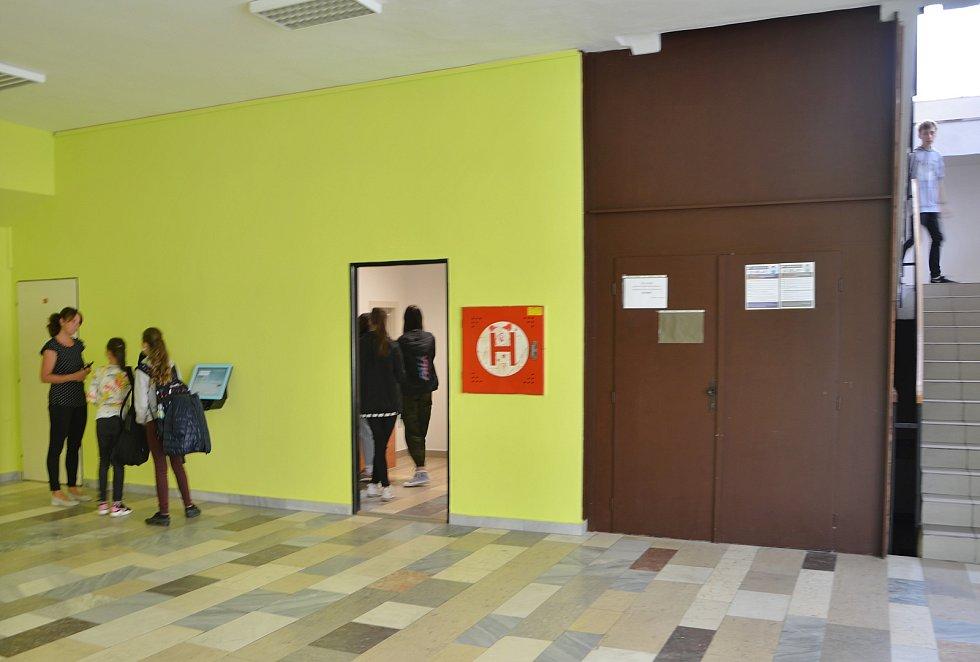 Centrální jídelna v Třebíči.