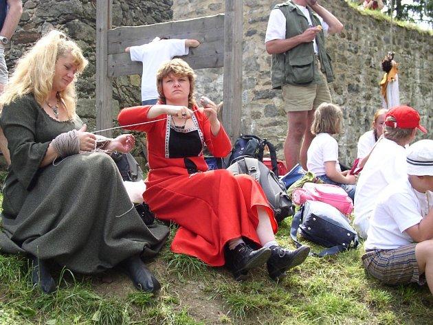 Hrad Orlík u Humpolce ožije středověkými slavnostmi.
