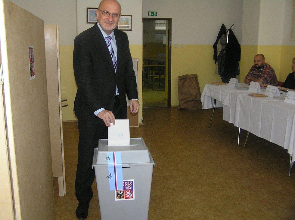 Volil Jan Tecl, lídr ODS.