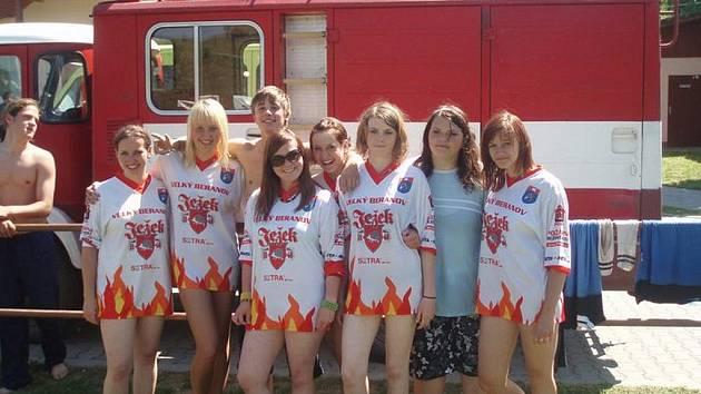 Dorostenky  jsou v současnosti nejlepším týmem velkoberanovských hasičů.
