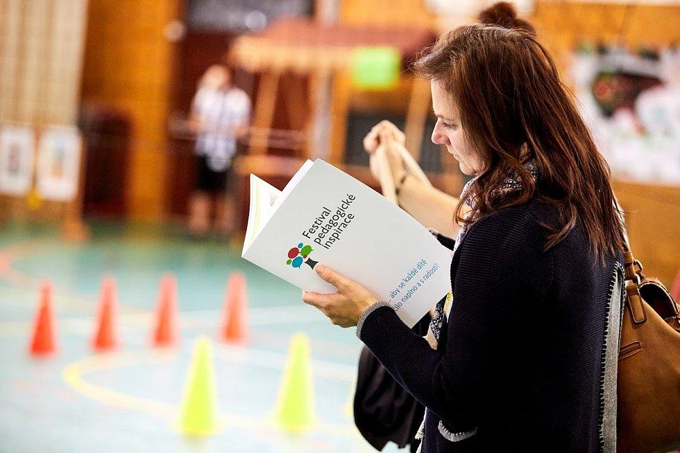 Festival pedagogické inspirace 2019 pořádaný v rámci projektu Pomáháme školám k úspěchu.