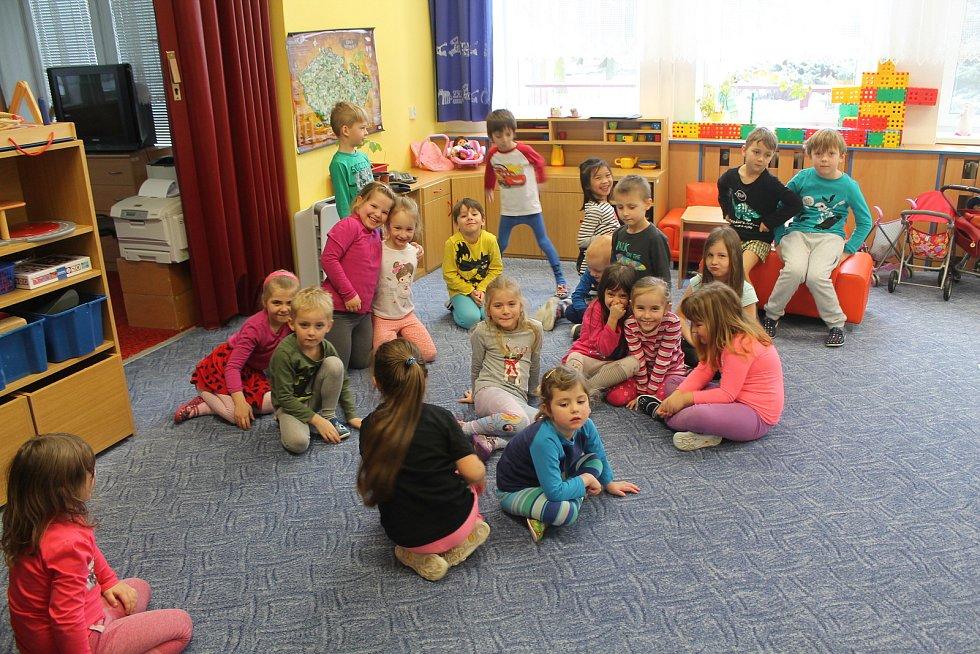 Děti v MŠ Třešť.