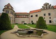 Pohled na zámek Telč.