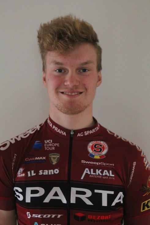 Jihlavský profesionální cyklista Richard Habermann bude letos závodit v dresu Sparty.