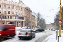 Křižovatku ulic Legionářů a Fritzova budou řídit semafory.