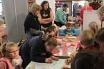 V jihlavském DKO se nabízela nejen inspiraci na dárky, ale i spousta aktivit přímo pro děti.