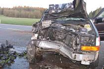 Dopravní nehoda mezi Kostelcem a Jihlavou