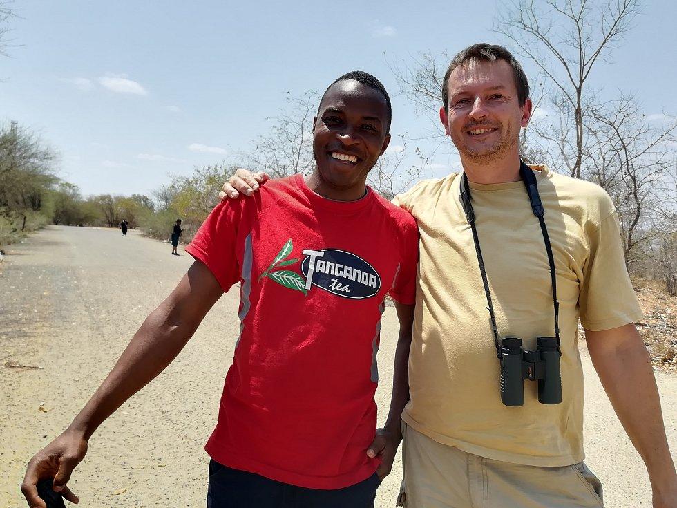 Na zimbabwské hranici.