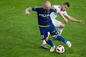 FC Vysočina Jihlava (v modrém), ilustrační foto