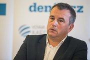 Předseda představenstva a generální ředitel Motorpal Jihlava Radim Valas.