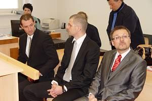 Zleva: Ivan Padělek z Jihlavy, ortoped Ladislav Čepera z Jihlavy a chirurg Michal Kašpar z Brna.