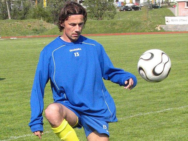 Konečně! Libor Baláž se po táhlém zranění zapojil plně do tréninků FC Vysočina.