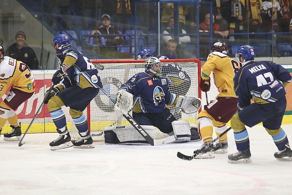 Čtvrtý zápas semifinále play off Kladno - Jihlava.