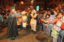 Svatý Martin přijel do Jihlavy.