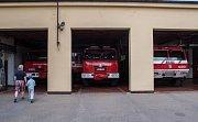Den otevřených dveří u příležitosti svátku patrona hasičů sv. Floriána na stanici Havlíčkův Brod.