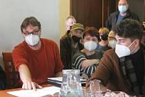 Jihlavská radnice pozvala na tiskovou konferenci k cyklostezce Mlýnská - Helenínská i veřejnost.