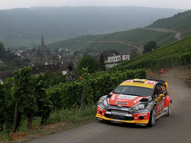 Na letošní ročník Německé rallye bude Martin Prokop vzpomínat v dobrém. Skončil čtvrtý.