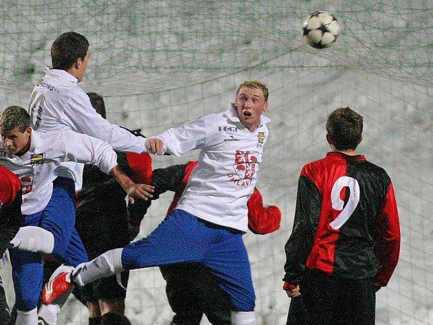 Fotbalisté Jihlavy si v přípravě užijí pořádnou zápasovou porci.