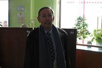 Dobrý duch. Spolupráce pana Dvořáčka a jeho kolegyň z infocentra chrání návštěvníky nemocnice před blouděním.