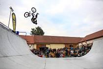 Třetí sobotu v září se konalo v Panském dvoře v Telči Mistrovství České republiky v BMX na minirampě.