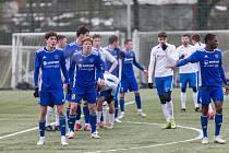Přípravné utkání mezi FC Vysočina Jihlava a FK Blansko.