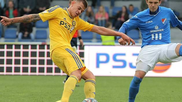 Jan Kliment ještě v dresu FC Vysočina Jihlava.