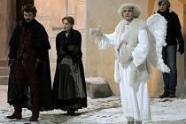 Na hradě v Ledči nad Sázavou se natáčí pohádka Anděl Páně II.