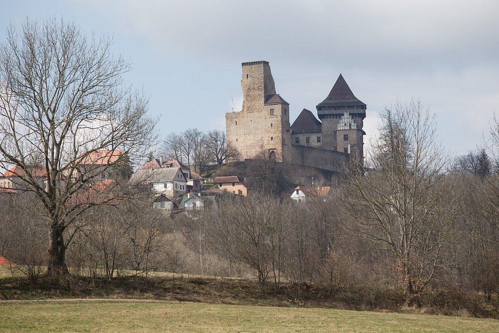 Expozice hradu Lipnice.