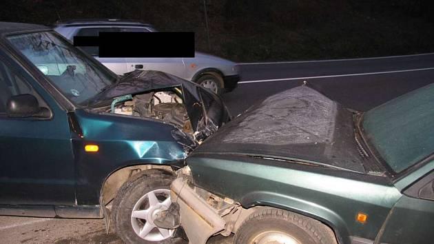 Jeden a půl promile alkoholu v krvi měl řidič Felicie.