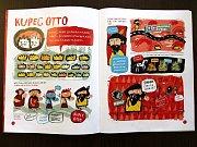 Historie Jihlavy v poutavém komiksu se dvěma ježky.