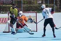 Charitativní hokejbalový turnaj Orion Cup bude v Jihlavě k vidění o tomto víkendu.