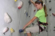 Jihlavské lezecké centrum obsadily v sobotu desítky dětí.