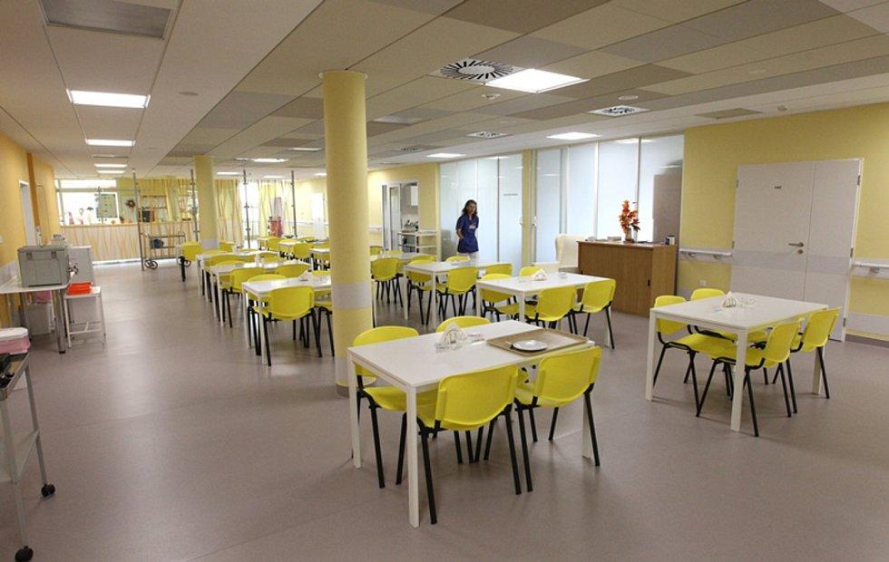 Nové prostory interního pavilonu jihlavské nemocnice.