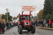 Traktory v Třeštici.