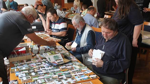 Sběratelé měli na prodej  unikátní kousky, zájem veřejnosti byl bohužel celkem nízký.