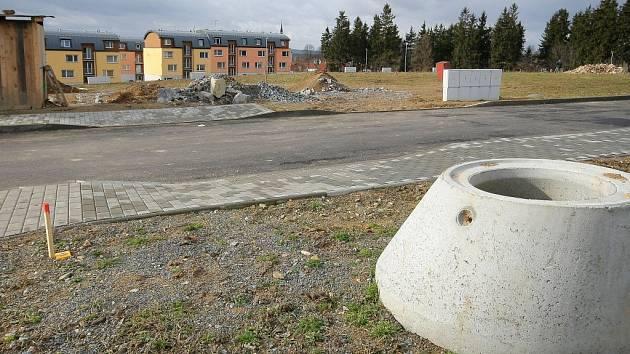 Polná se rozrůstá v současnosti v lokalitě Palackého sever. Pozemky jsou zasíťované.