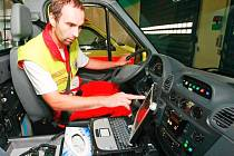 Nový počítačový systém ve vysočinské sanitce