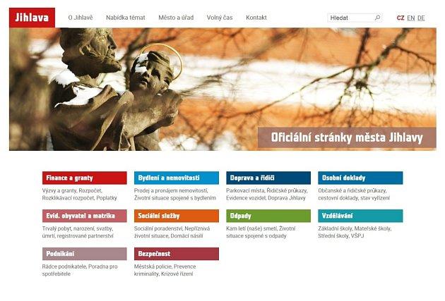 V novém. Od února se zcela změní webové stránky krajského města. Pro uživatele budou přehlednější.