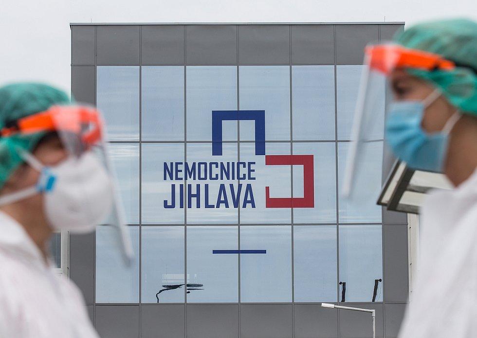 Fotografie za redakce Deníku Vysočina na výstavu Region press foto 2020.