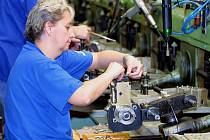 Výroba v Motorpalu Jihlava