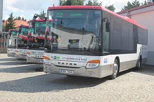 Vedle šesti hybridních vozů Mercedes-Benz Citaro dodá Icom transport Jihomoravskému kraji i desítky vozů Setra se spalovacím motorem.