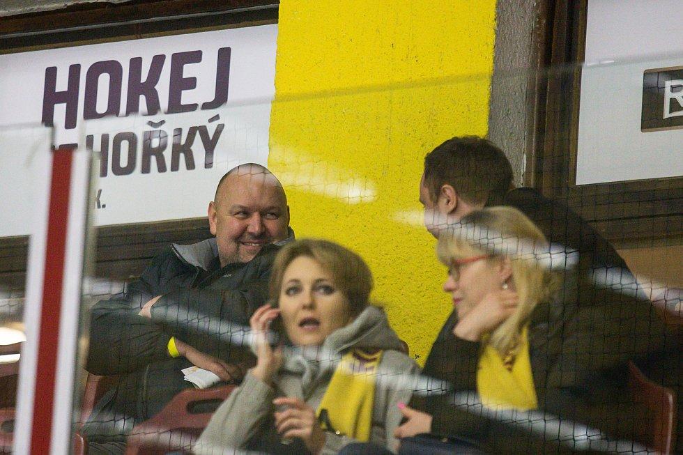 Druhý zápas play off mezi HC Dukla Jihlava a HC Stadion Litoměřice