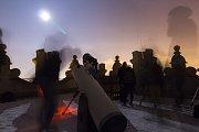 Zatmění Měsíce dnes 21. ledna v Jihlavě.