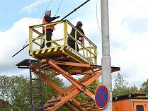 OBRAZEM: Výstavba nové trolejbusové trati v Jihlavě
