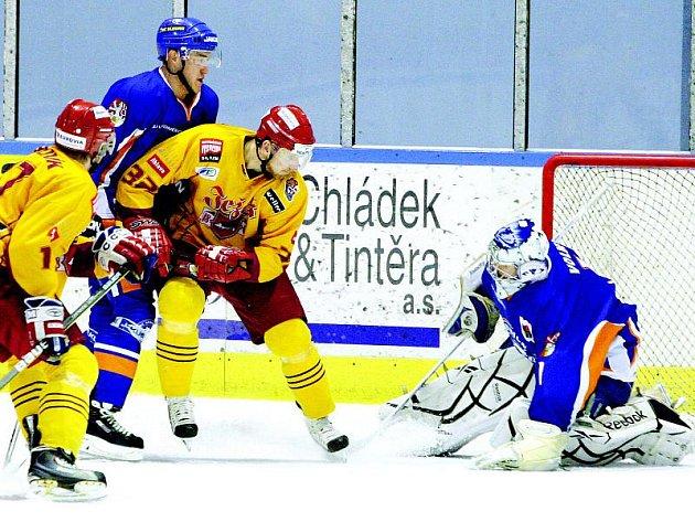 V první a třetí třetině měli hokejisté Dukly Jihlava v Litoměřicích výraznou převahu, přesto si přivezli domů jen dva body.