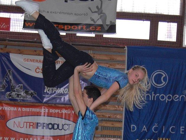 Jakub Brodina a Aneta Kristová zatančili třetí nejlepší skladbu kategorie C.