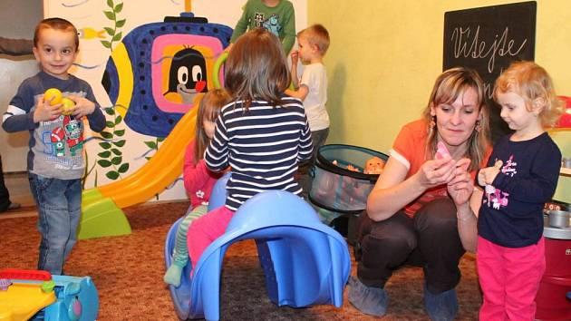 Mateřské centrum v Dolní Cerekvi.