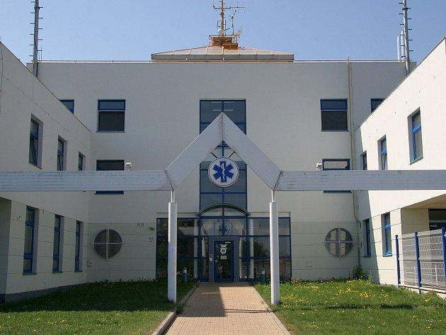 Budova rychlé záchranné služby v Jihlavě.