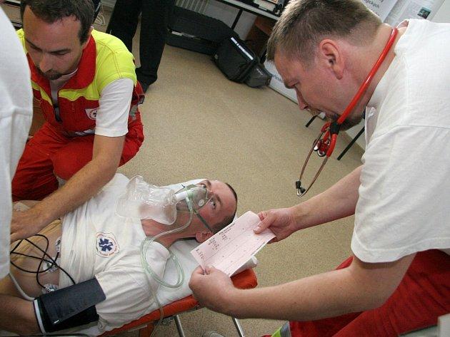 Nový způsob zjišťování životních funkcí pacienta  za pomoci moderní technologie.